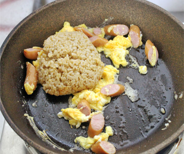 玄米の美味しい食べ方!キーマカレーで炒め飯、とろける ...